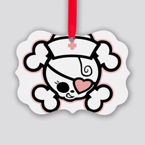 dolly-rn-heart-T Picture Ornament