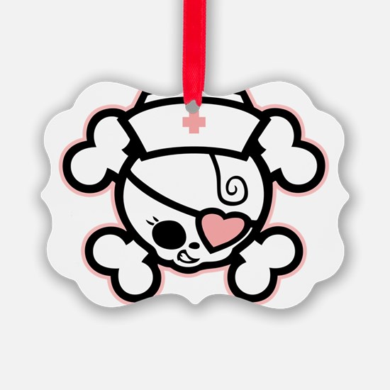 dolly-rn-heart-T Ornament