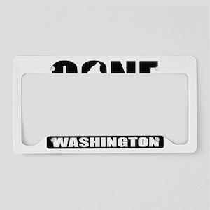 Gone Sqatchin *Special Washin License Plate Holder