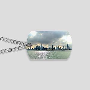 Chicago Skyline Dog Tags
