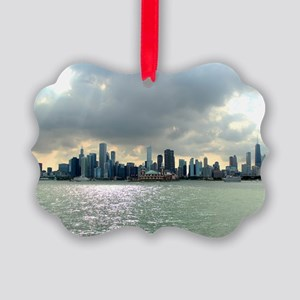Chicago Skyline Picture Ornament