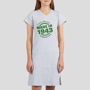 Made in 1943 Organic Women's Nightshirt