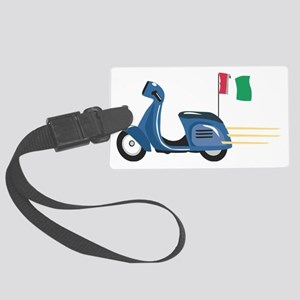 Italian Vespa Large Luggage Tag