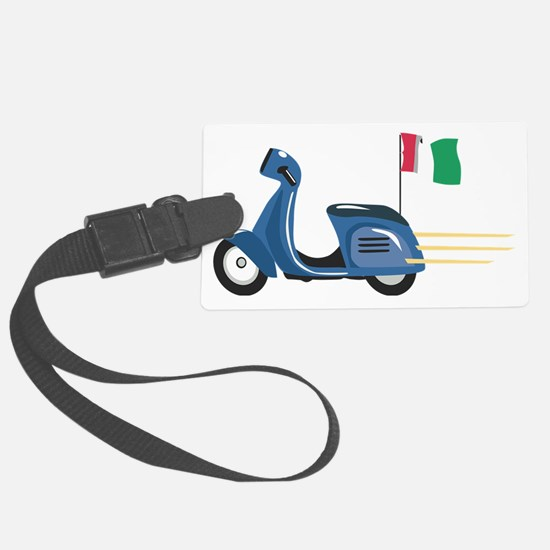 Italian Vespa Luggage Tag