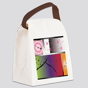 FREE FORM Canvas Lunch Bag