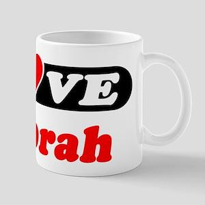 I Love Deborah Mug