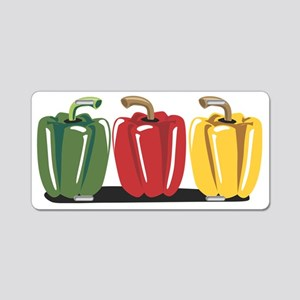 Peppers Aluminum License Plate