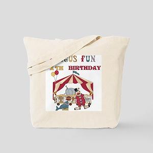 Circus Fun 7th Birthday Tote Bag