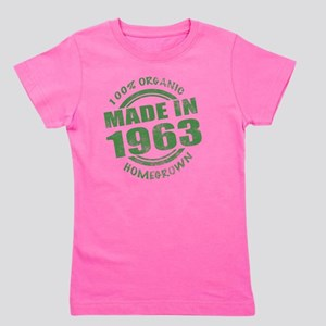 Made in 1963 Organic Girl's Tee