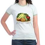 grow your veggies Ringer T-shirt