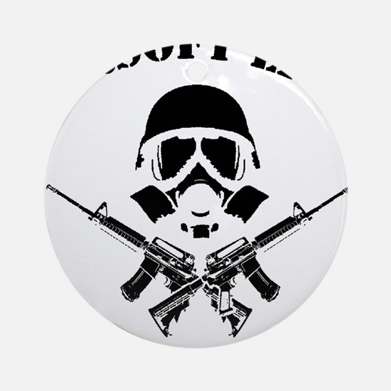 Airsoft Life Round Ornament