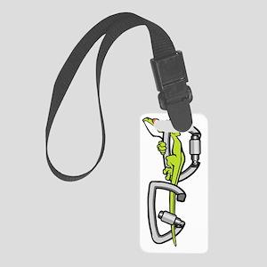 Deaf Gecko Logo Small Luggage Tag