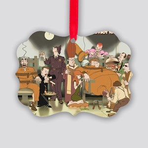 Cowboy Wally Electric Chair Picture Ornament