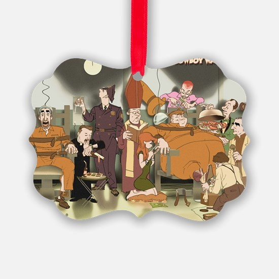 Cowboy Wally Electric Chair Ornament