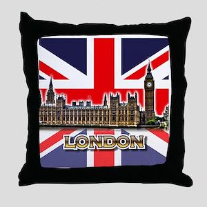parliament Square3 Throw Pillow