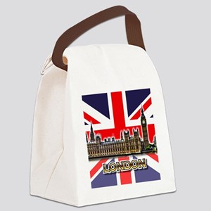 parliament Square3 Canvas Lunch Bag