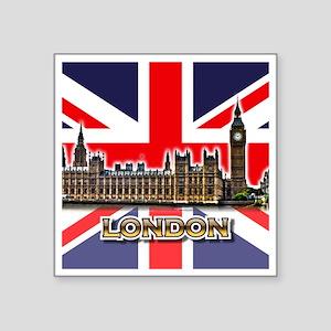 """parliament Square3 Square Sticker 3"""" x 3"""""""