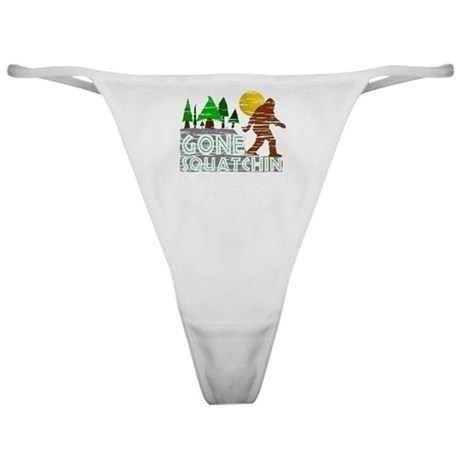 Distressed Original Gone Squatchin D Classic Thong