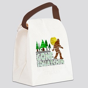 Distressed Original Gone Squatchi Canvas Lunch Bag