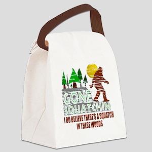 Distressed Original Gone Squatchi Canvas Lunch Bag