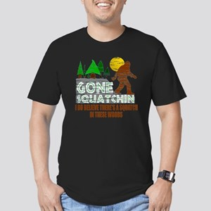 Distressed Original Go Men's Fitted T-Shirt (dark)