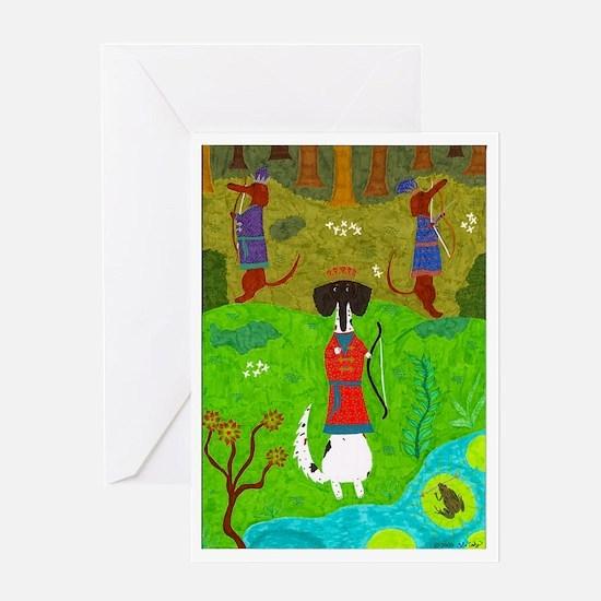 Frog Princess Greeting Card