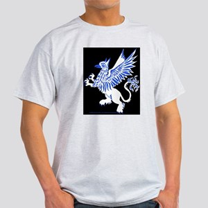 Graphic Gryphon Blue White Light T-Shirt