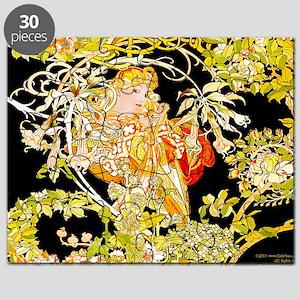 Laptop Mucha Color Marguerite Puzzle