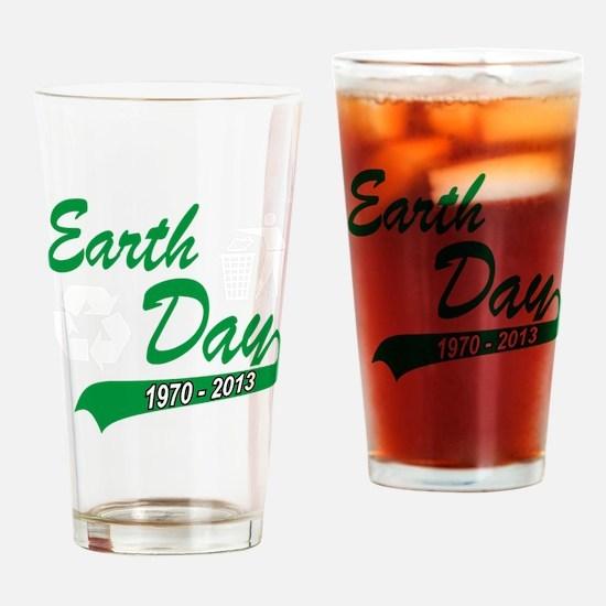 earth62013Wblack Drinking Glass