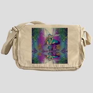 fairy shower curtains Messenger Bag