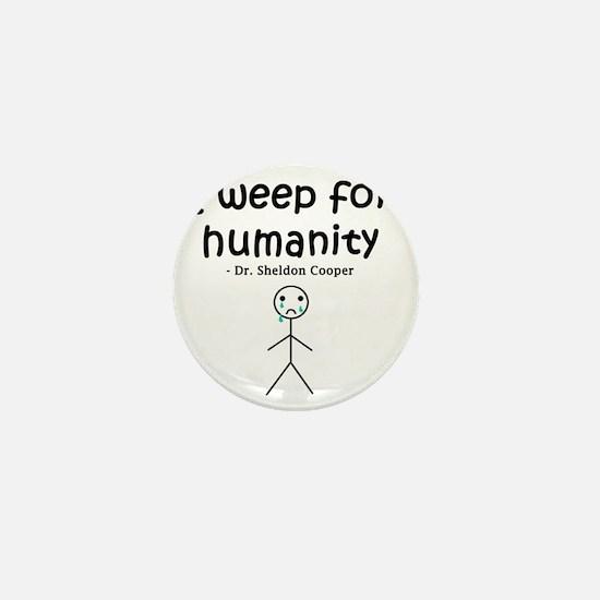 Big Bang Weep Mini Button