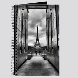 Eiffel tower viewed from wall for peace Journal
