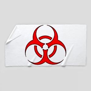Biohazard 1 Beach Towel