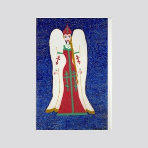 Russian Orthodox Angel Rectangle Magnet