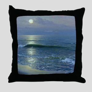 mr_shower_curtain Throw Pillow