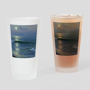 mr_shower_curtain Drinking Glass