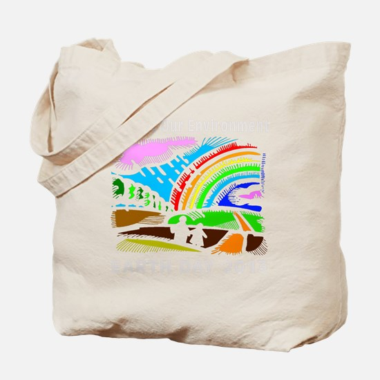 earth372013blackW Tote Bag