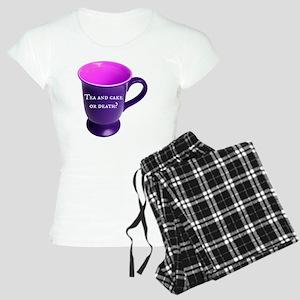 Tea and cake or death? Women's Light Pajamas