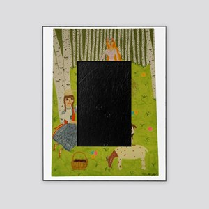 Wood Maiden Picture Frame