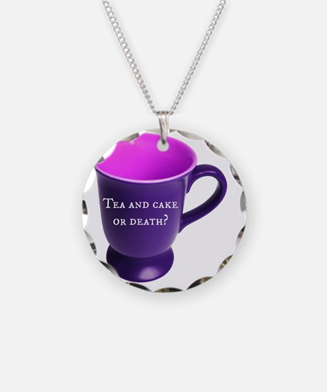 Tea and cake or death? Necklace