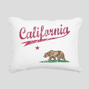 California Sport Style F Rectangular Canvas Pillow