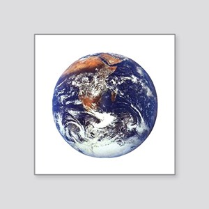 """earth432013darkT Square Sticker 3"""" x 3"""""""