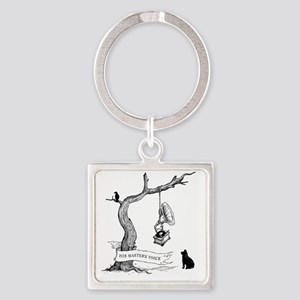 His Masters Voice Square Keychain