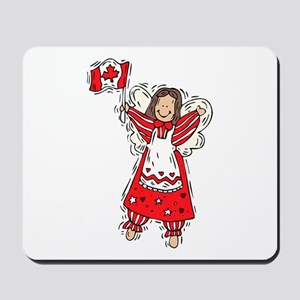 Canadian Angel  Mousepad