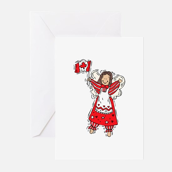 Canadian Angel Greeting Cards (Pk of 10)