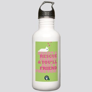Adopt a rescue Stainless Water Bottle 1.0L