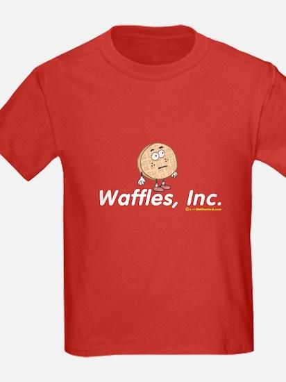 Waffles, Inc. Kids Tee - Red