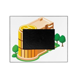 Helipad Picture Frames Cafepress