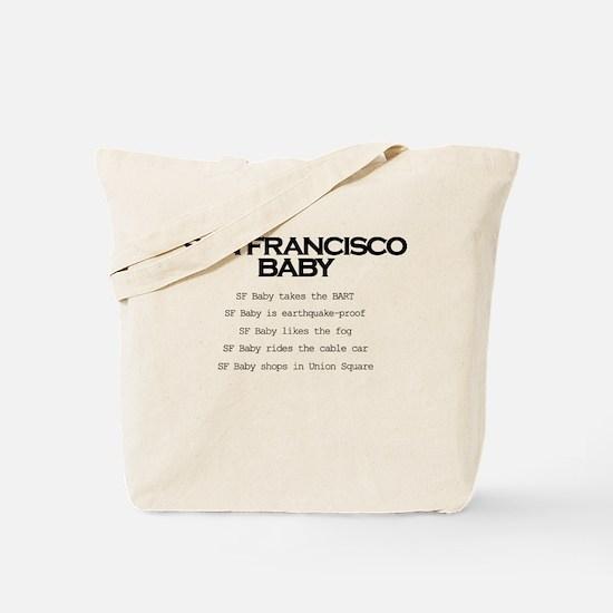 Cute California baby Tote Bag