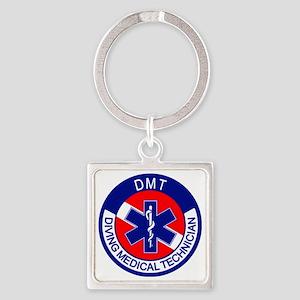 DMT Logo Square Keychain